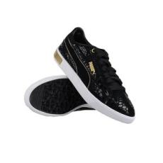 Puma női utcai cipő TN Suede Femme Low WR Wns, fekete, műbőr, 41