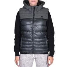 Adidas PERFORMANCE mellény Cozy Down Vest Utiivy, női, fekete, poliészter, L
