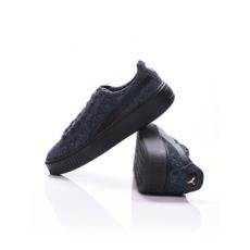 Puma női utcai cipő Suede Platform Elemental, fekete, poliészter, 36