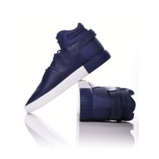 ADIDAS ORIGINALS férfi utcai cipő Tubular Invader, kék, bőr, természetes, 41,3