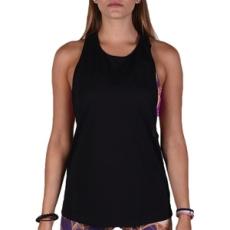 Adidas PERFORMANCE fitness felső Performer Tank Black/Msilve, női, fekete, pamut, L