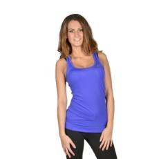 Adidas PERFORMANCE fitness felső TF Tank Solid, női, lila, poliészter, L