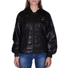Russel Athletic Kabát, Russel Athletic Russell Wind Runner, női, fekete, poliészter, L