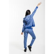 Dorko nadrág Basic Sweat Pant Blue Marl, női, kék, pamut, L