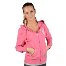Russel Athletic Végig cipzáros pulóver, Russel Athletic Russell Athletic, női, rózsaszín, pamut, L