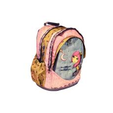 Mirabelle Hátizsák ergonómiai rózsaszín-sárga Adrift MIRABELLE