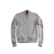 Alpha Industries X-Fit Sweat Jacket MA-1 Női - szürke
