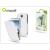 Muvit Samsung I9500 Galaxy S4 Ultra Vékony Flipes tok Képernyővédő Fóliával - Muvit Iflip - fehér