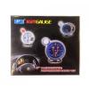 Autós multifunkciós mérőóra 8 funkcióval 5 OR-LED7785