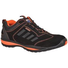 Portwest -FW34 - Steelite Lusum védőcipő S1P - fekete/narancs (48)