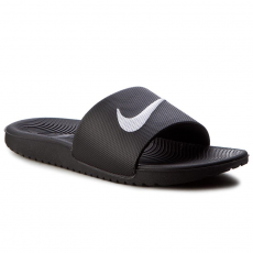 Nike Papucs NIKE - Kawa Slide (GS/PS) 819352 001 Black/White