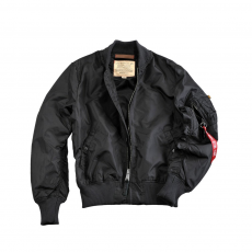 Alpha Industries MA-1 TT Long - fekete
