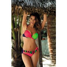 marko Bikini Tamara Blu Scuro-Coralmania-Smile M-399 korall/zöld