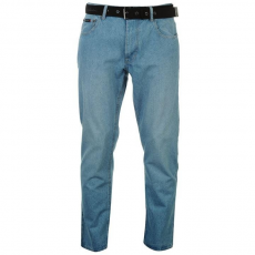 Pierre Cardin férfi farmer - Pierre Cardin Web Belt Mens Jeans