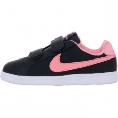 Nike Court Royale Gyerek sportcipő, Anthracite/Bright Melon, 31 (833655-002-13c)