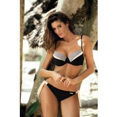 marko Bikini Carla Nero M-429 szürke/fekete