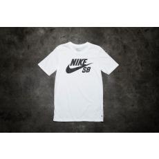 Nike SB Logo Tee White