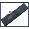 Asus UX50V-RX05 2500 mAh 4 cella fekete notebook/laptop akku/akkumulátor utángyártott