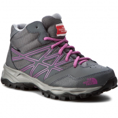 The North Face Bakancs THE NORTH FACE - Jr Hedgehog Hiker Mid Wp T0CJ8QNTJ Zinc Grey/Wisteria Purple