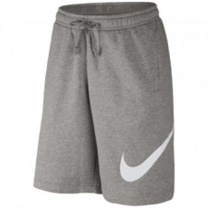 Nike Logo Tag Férfi rövidnadrág, Grey Heather/White, XL (843520-063-XL)