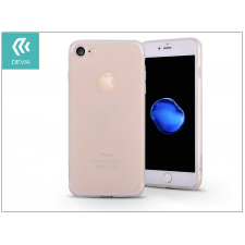 Devia Apple iPhone 7 szilikon hátlap - Devia Egg Shell - crystal clear tok és táska