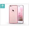 Devia Apple iPhone 6 Plus/6S Plus hátlap Swarovski kristály díszitéssel - Devia Crystal Garland - rose pink