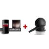 Cover Hair Volume hajdúsító, 30 g, sötétbarna + szórófej