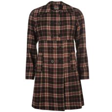 Lee Cooper Kabát Lee Cooper Check Wool női