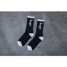 STUSSY Stock Socks Black