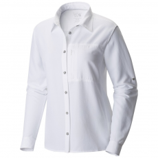 Mountain Hardwear Canyon Long Sleeve Shirt Ing,blúz D (1648531-q_100-White)