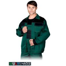 Zöld MASTER kabát, 65% poliészter és 35 % pamut  (262 g/m2)