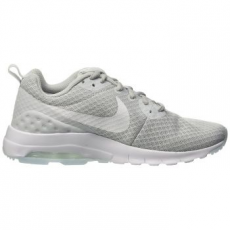 Nike Air Max Motion Low női sportcipő, Platinum/White, 38.5 (833662-010-7.5)
