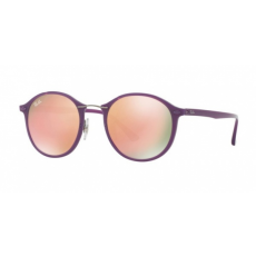 Ray-Ban RB4242 60342Y SHINY VIOLET BROWN MIRROR PINK napszemüveg
