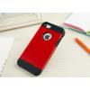 iPhone 5 5S műanyag bumper piros színben
