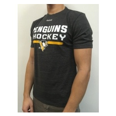 Reebok Pittsburgh Penguins Póló Locker Room 2016 - S,(EU)