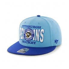 47 Brand Pittsburgh Penguins Siltes sapka First Class Snapback