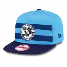 New Era Pittsburgh Penguins Siltes sapka Double Stripe Snapback - M/L