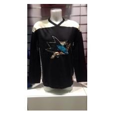 CCM San Jose Sharks Hosszú-ujjú póló Crew 15 - M