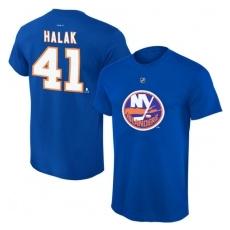 Reebok New York Islanders Jaroslav Halak Tee Flat póló - XS