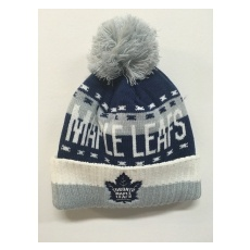 Reebok Toronto Maple Leafs Téli sapka Team Name Cuff Pom