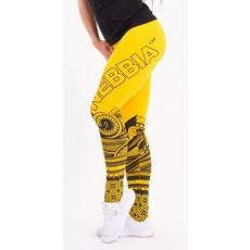 NEBBIA NEBBIA Suplex Leggings Tattoo 215 (Sárga)