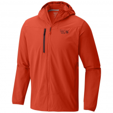 Mountain Hardwear Super Chockstone Hooded Jacket Softshell kabát D (1707731-q_842-State Orange)