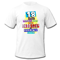 Születésnapi póló, 18 évembe került