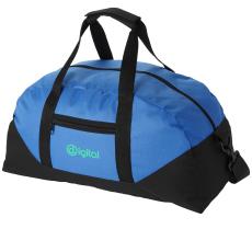 Stadium táska, kék (Állítható vállpánttal, cipzáros oldalzsebbel. 600D poliészter. Termékméret: 45,7 ×)