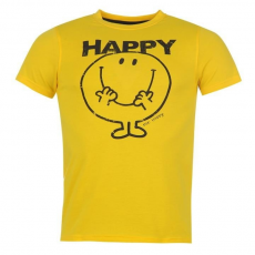 Character férfi póló - Character Mr Men Print T Shirt