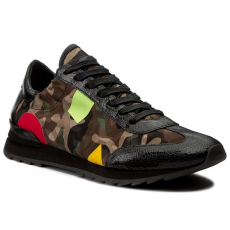 Philippe Model Sportcipő PHILIPPE MODEL - Playstation PSLU CT01 Camouflage Brown