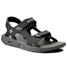 Columbia Szandál COLUMBIA - Youth Techsun Vent BY4566 Black/Columbia Grey 010