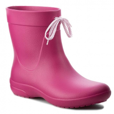 CROCS Gumicsizmák CROCS - Freesail Shorty Rainboot 203851 Berry