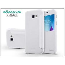Nillkin Samsung A520F Galaxy A5 (2017) oldalra nyíló flipes tok - Nillkin Sparkle - fehér tok és táska