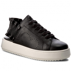 Twinset Szandál TWINSET - Sneakers CS7TRN Nero 00006